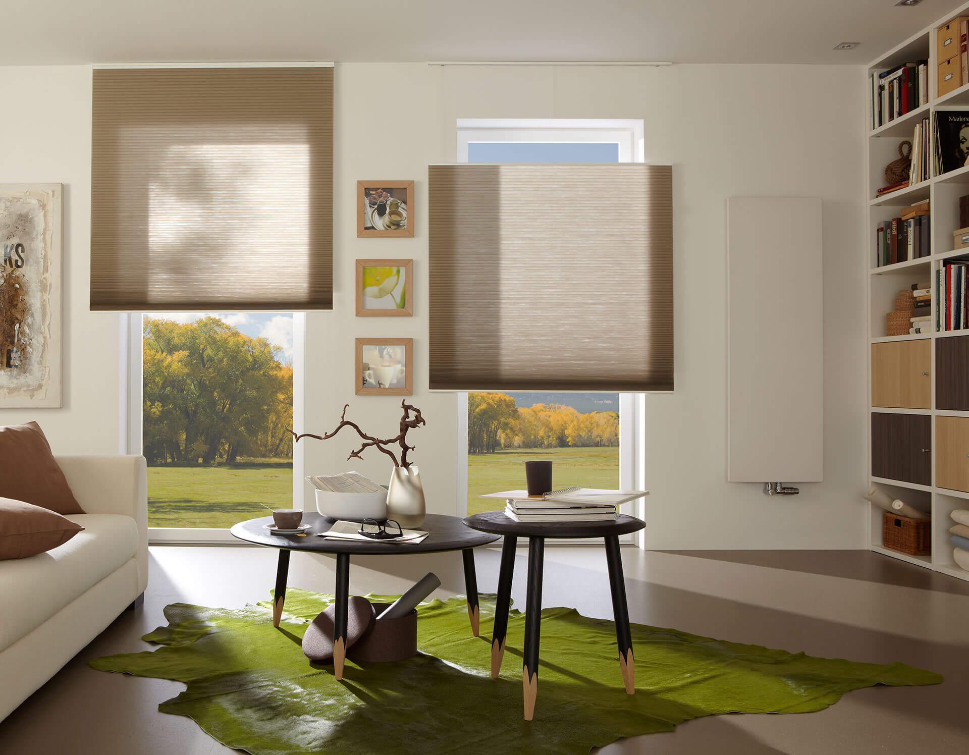 duette wabenplissees von adler wohndesign. Black Bedroom Furniture Sets. Home Design Ideas