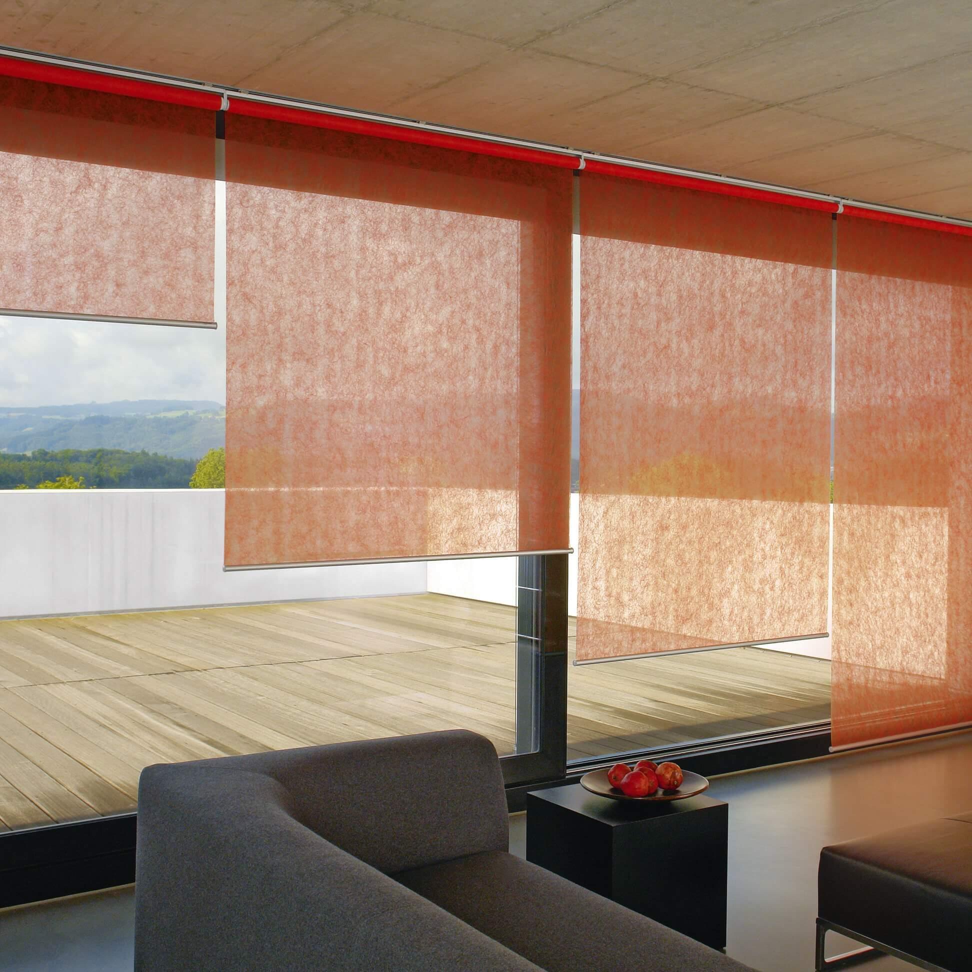 stylische rollos bei adler wohndesign in charlottenburg. Black Bedroom Furniture Sets. Home Design Ideas