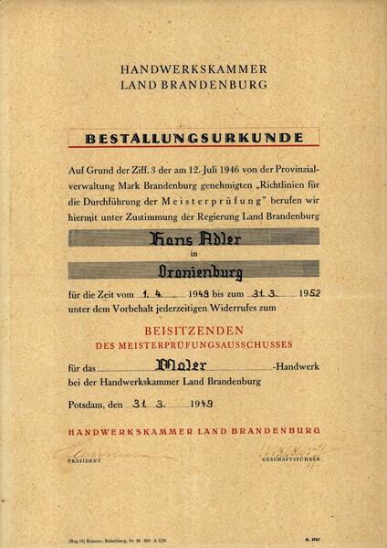 Tradition familie und handwerk adler wohndesign for Wohndesign charlottenburg