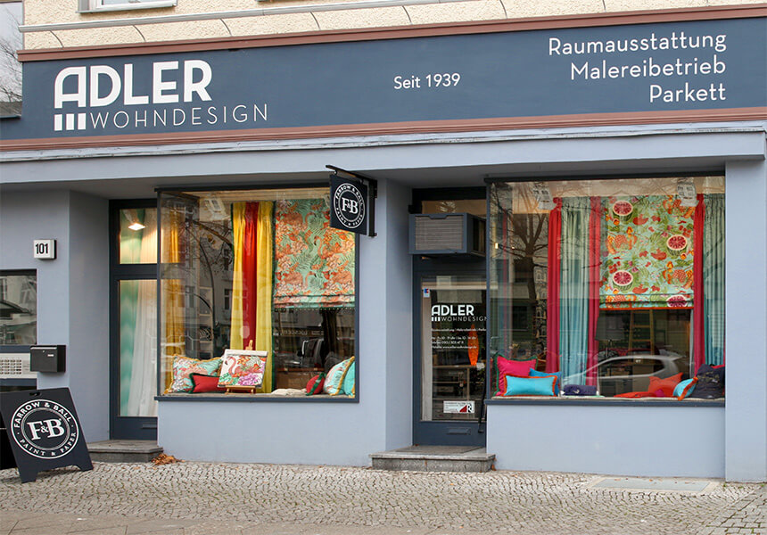 adler wohndesign raumausstatter f r berlin seit ber. Black Bedroom Furniture Sets. Home Design Ideas