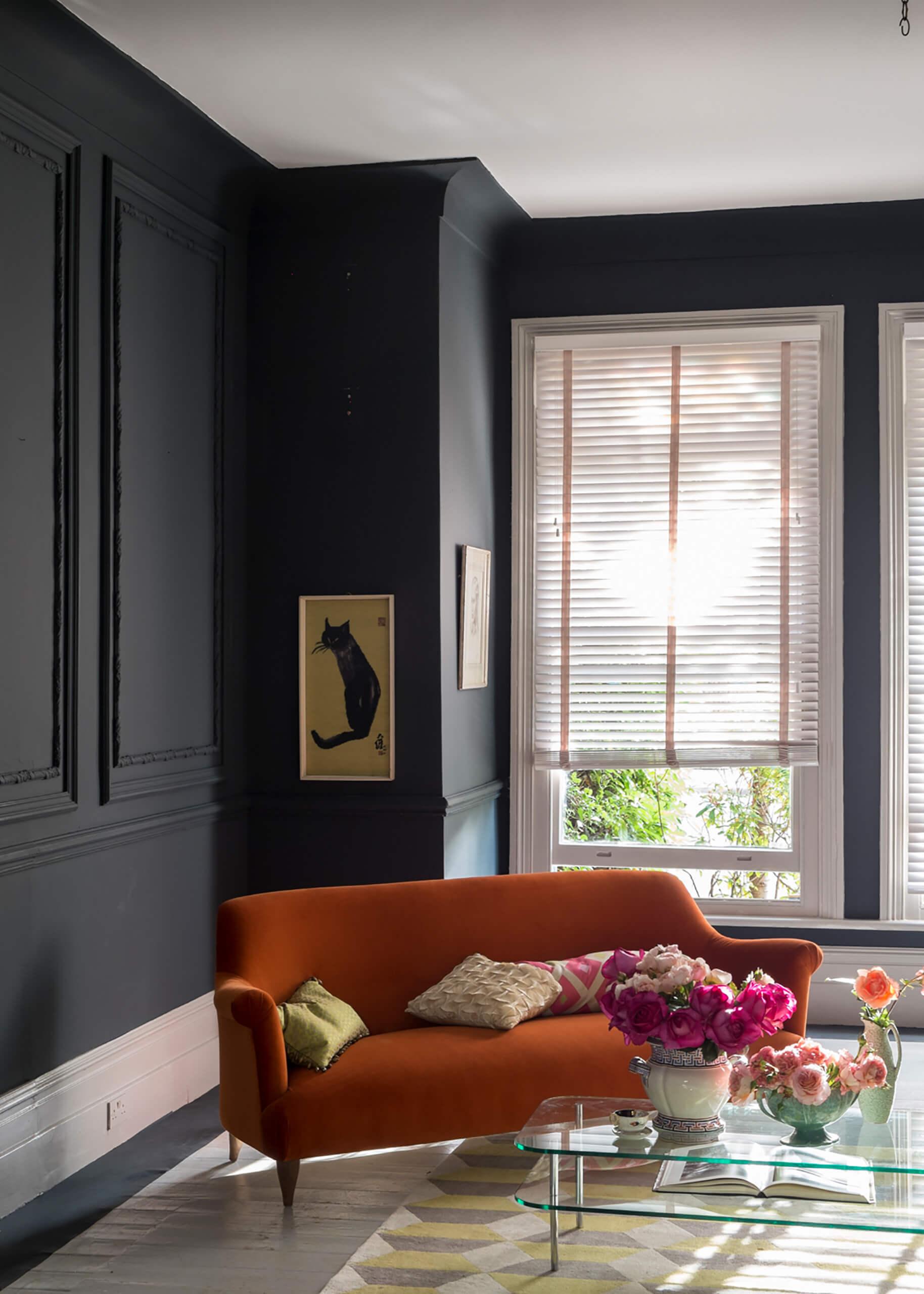 Wandfarbe Dunkel es werde licht mit dunklen farben adler wohndesign