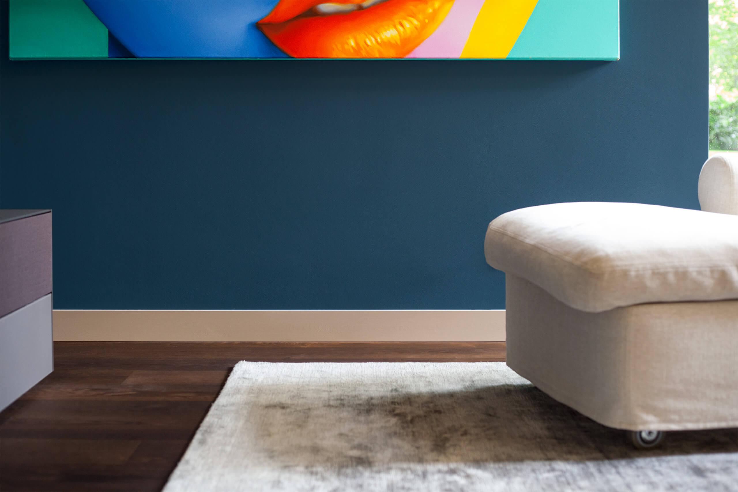 farrow ball s hague blue adler wohndesign. Black Bedroom Furniture Sets. Home Design Ideas