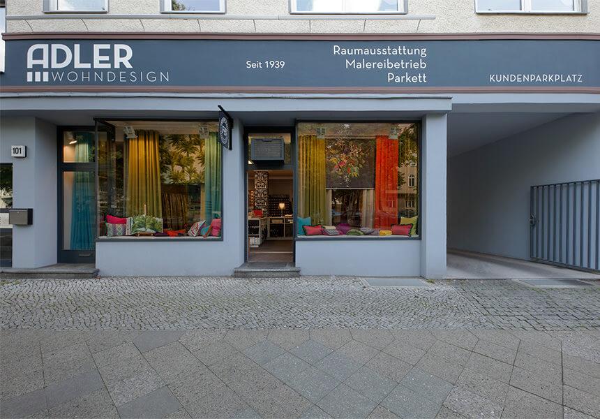 Fassade von Adler Wohndesign Raumausstatter Berlin