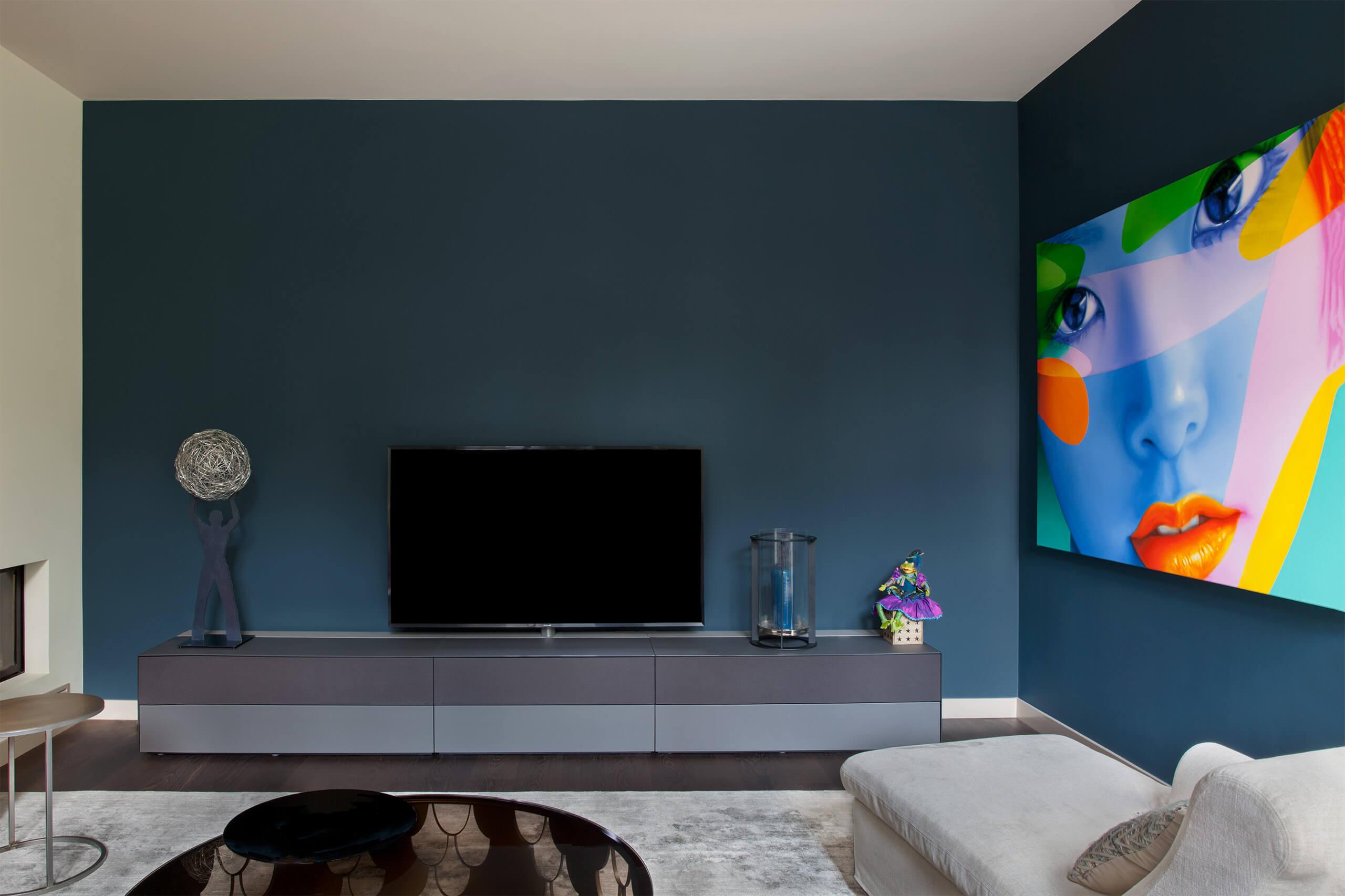 Farrow ball s hague blue adler wohndesign Farrow and ball exterior paint reviews